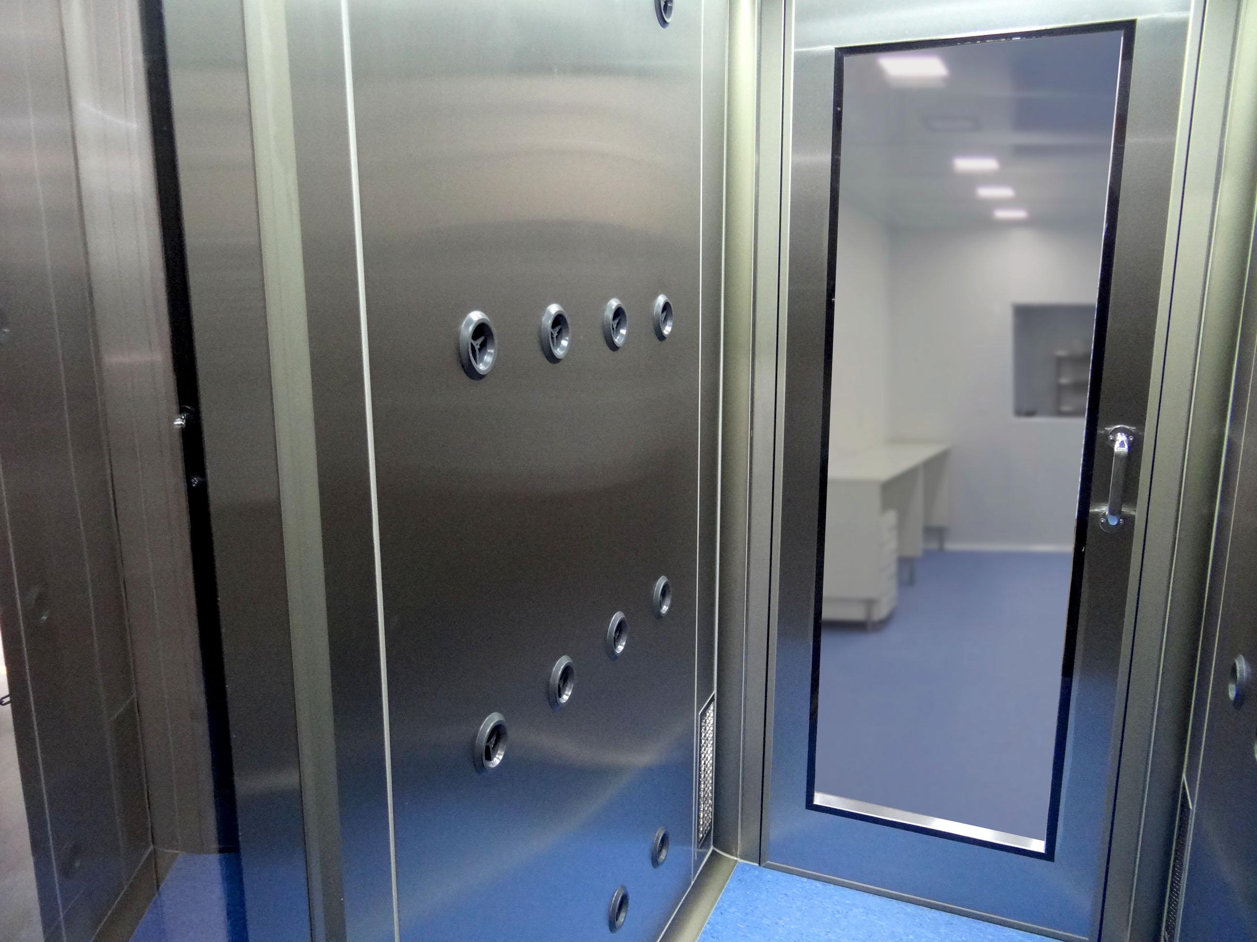 air shower inox isodur int